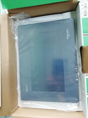 Schneider LCD Touch Screen Panel Hmigxu3512with Power Supply Connector