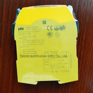 Decon Pilz 751105/750105 Safety Relay for Time Monitoring