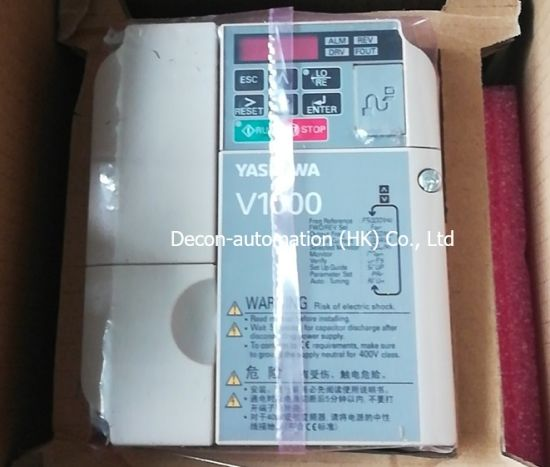 Yaskawa V1000 Cimr-Vbba0006bba Inverter with 7.5kw 11kw 15kw