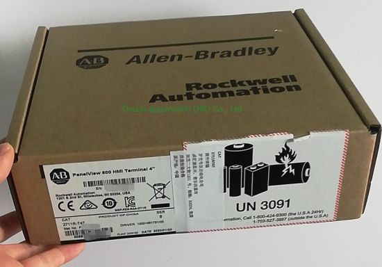 Allen Bradley 2711r-T4t Panelview 800 Touch Screen HMI