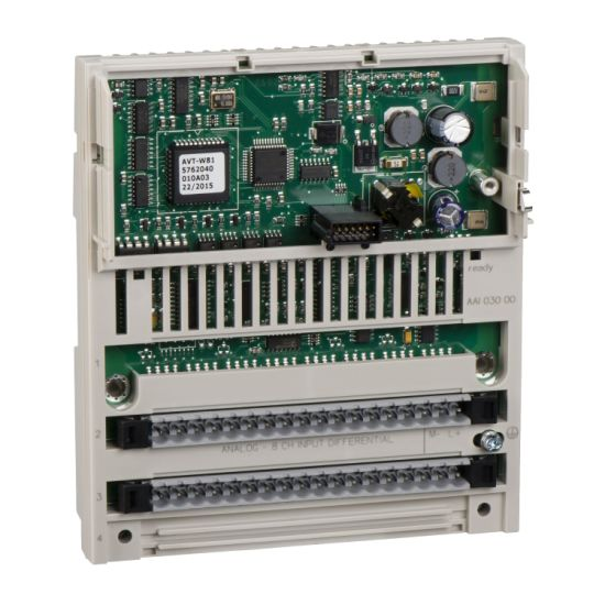 Power Supply Module Distributed Analog Input Modicon Momentum - 8 Input