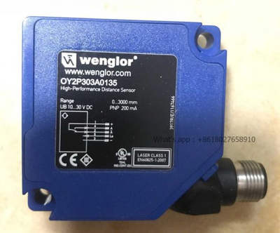 High-Performance Wenglor Distance Photoelectronic Sensors Oy2p303A0135